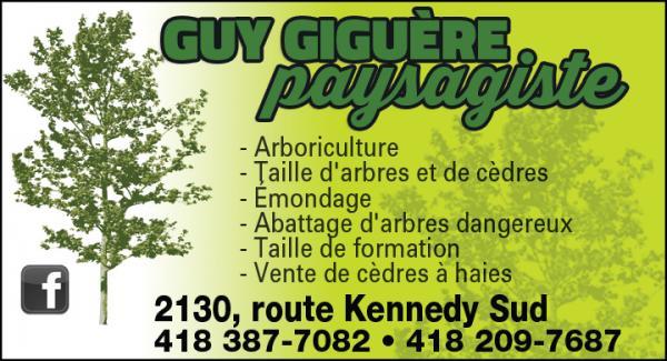 Guy Giguère Paysagiste